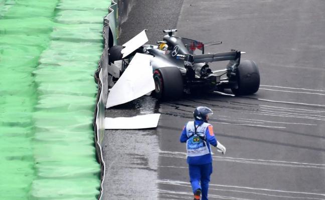 A falta de Hamilton, bueno es Bottas