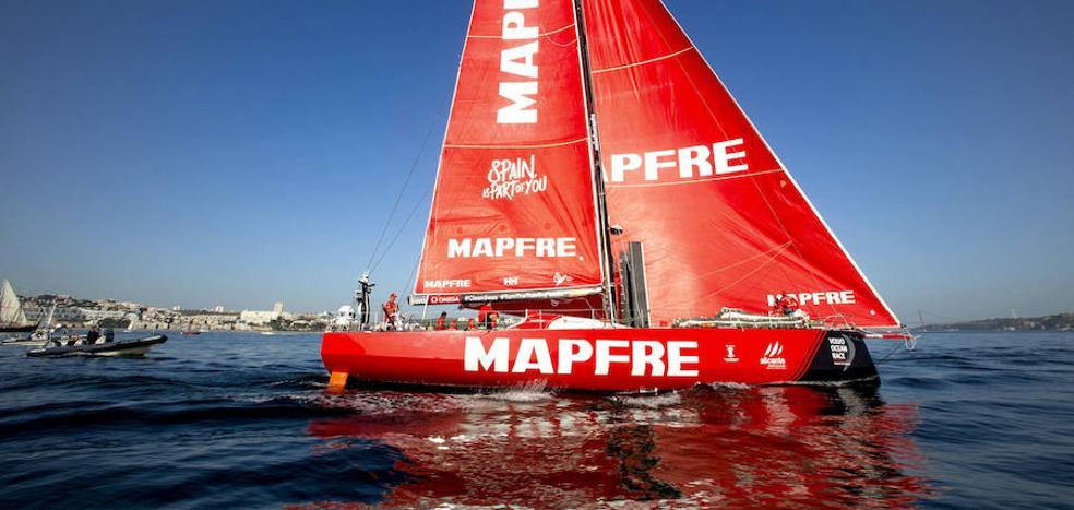 El 'Mapfre' sigue segundo a la altura de Cabo Verde