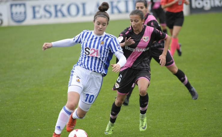 Los mejores momentos de la Real Sociedad Femenino-Rayo Vallecano Femenino