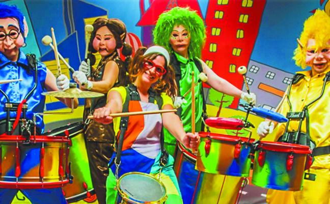 Los niños, protagonistas de la cuarta actividad del ciclo 'Azaroan Musika'