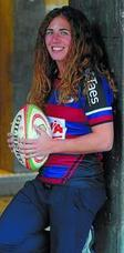 Amaiur Mayo (Jugadora del Avia Eibar Rugby y de la selección de Euskadi): «Cuando comencé a jugar no imaginaba que iba a llegar tan lejos»