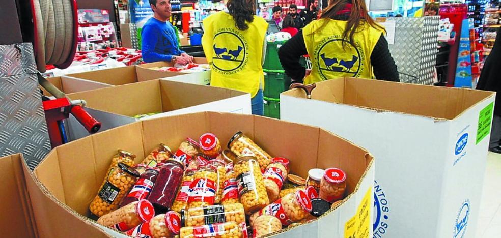 Campaña de captación de voluntarios para la Gran Recogida de Alimentos