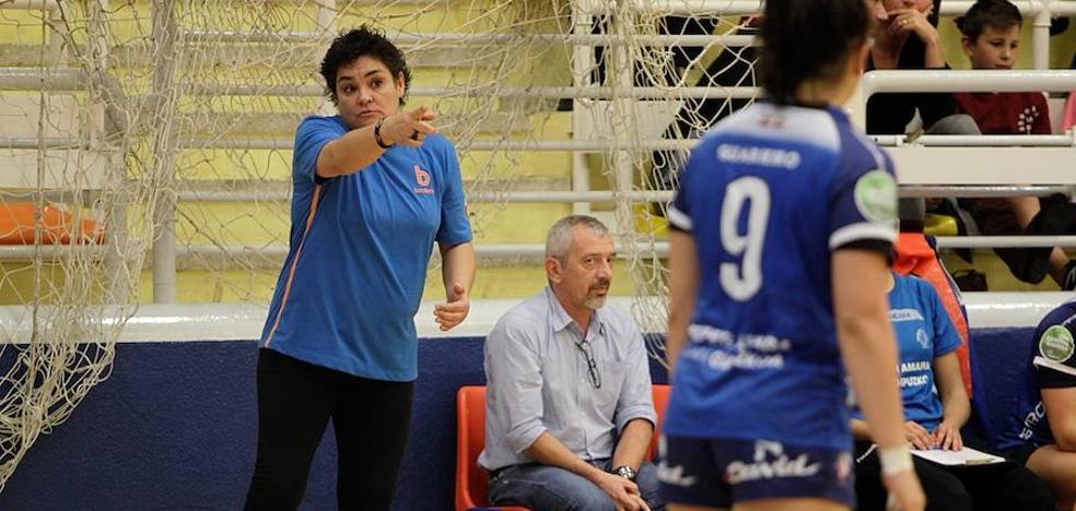 El Salto Bera Bera pierde en su estreno en Burgos