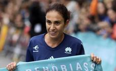 Aroa Merino: «Me ha costado bastante más esta victoria en la Behobia- San Sebastián»