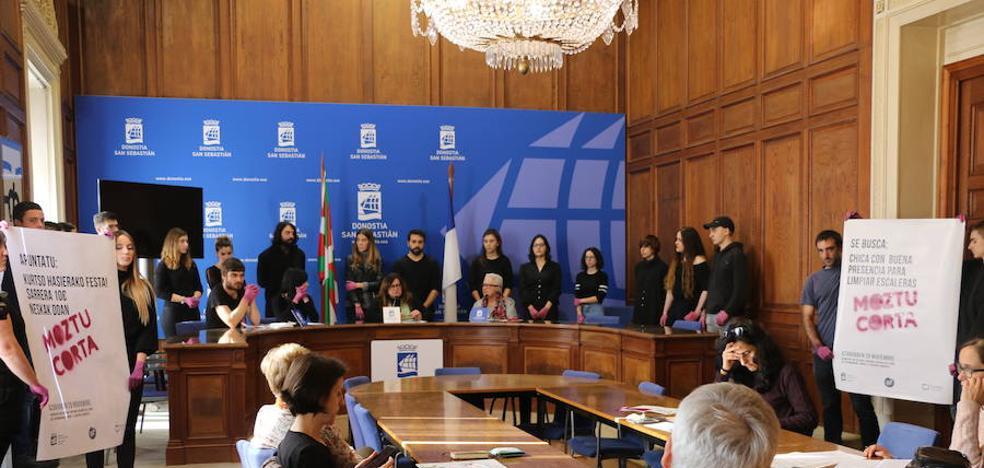 Donostia se suma al Día Internacional contra la Violencia Machista