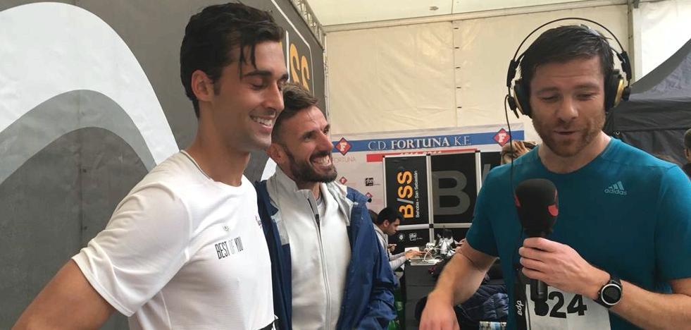 Xabi Alonso y Arbeloa ganan su apuesta a Chema Martínez