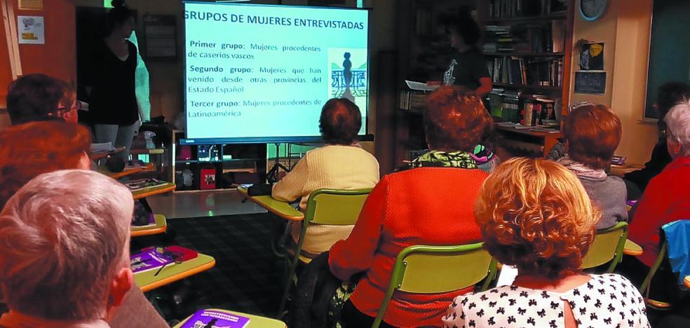 La asociación de mujeres de Egia Dandai cumple 50 años