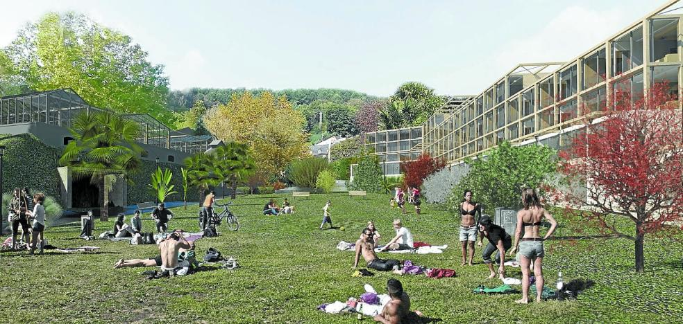 Donostia retoma el proyecto de los 70 apartamentos en los viveros de Ulía