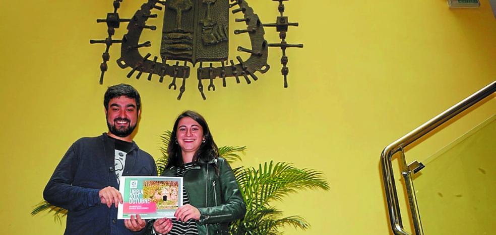 María Gutiérrez, ganadora de octubre en el calendario municipal