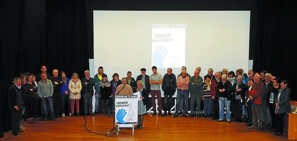 Bakegileak anima a acudir a la movilización de Artesanos para la Paz en París