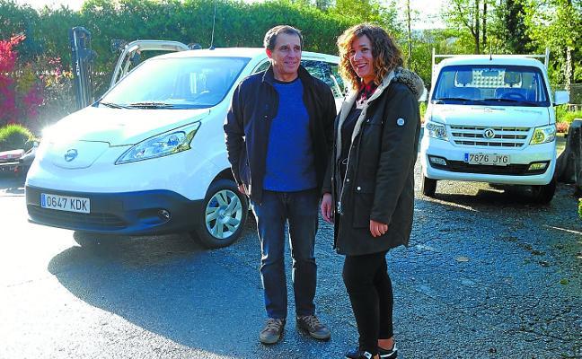 El Servicio de Jardinería incorpora vehículos eléctricos e híbridos