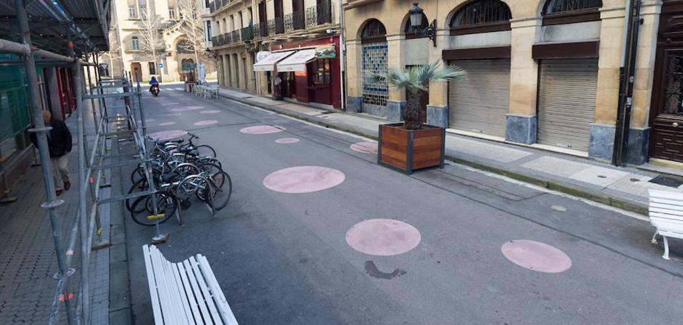 Las calles Blas de Lezo y Triunfo serán peatonales