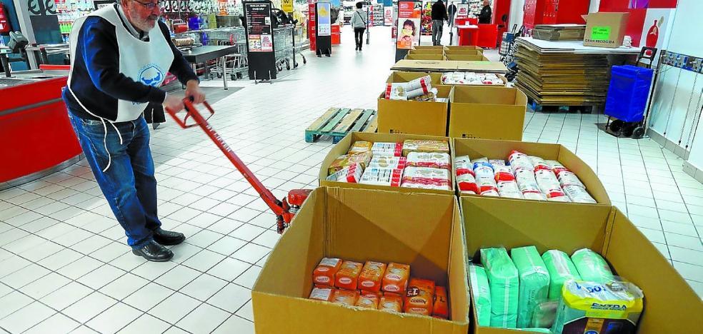 El Banco de Alimentos necesita 200 voluntarios para la gran recogida