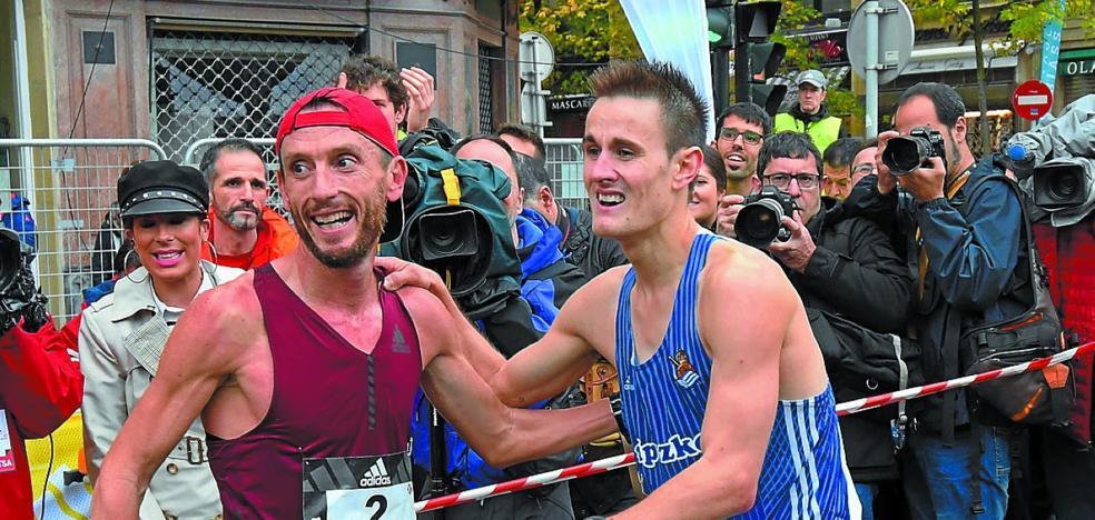 Gipuzkoa vuelve al podio de la Behobia nueve años después