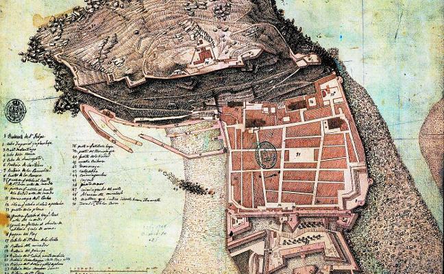 Un libro reúne 72 mapas que resumen 500 años de historia de Donostia
