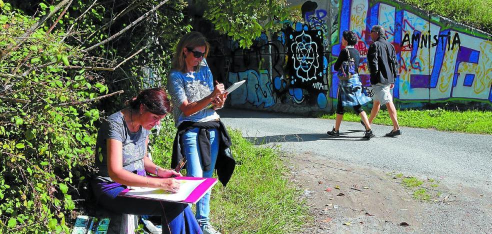 Otzazki junta a los amantes de la pintura para 'garabatear'