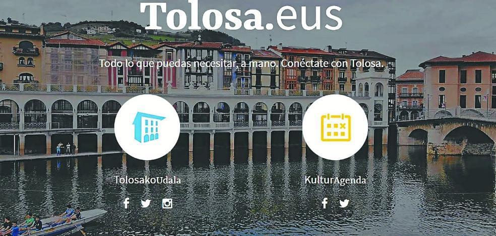 'Tolosa.eus', una web más intuitiva y ágil