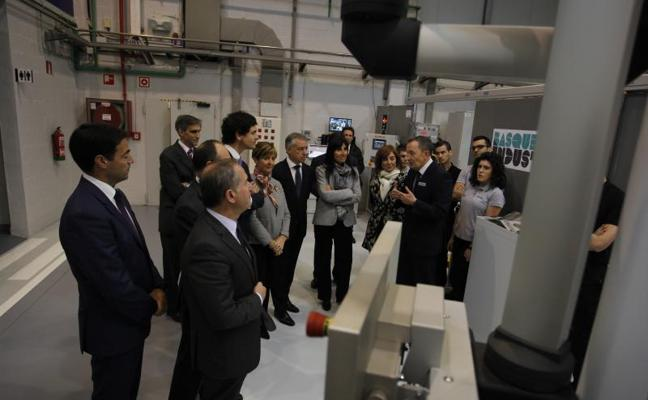 El nuevo Centro de Fabricación Avanzada potenciará el sector aeronáutico vasco