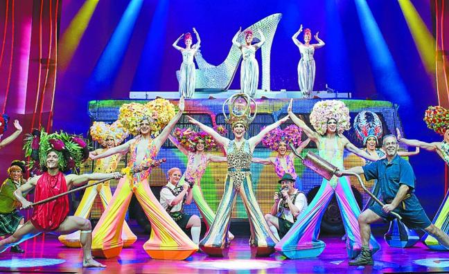 El musical 'Priscilla' llenará el Victoria Eugenia de alegría