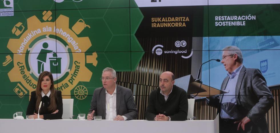 Gipuzkoa potenciará la prevención de residuos para avanzar hacia la economía circular