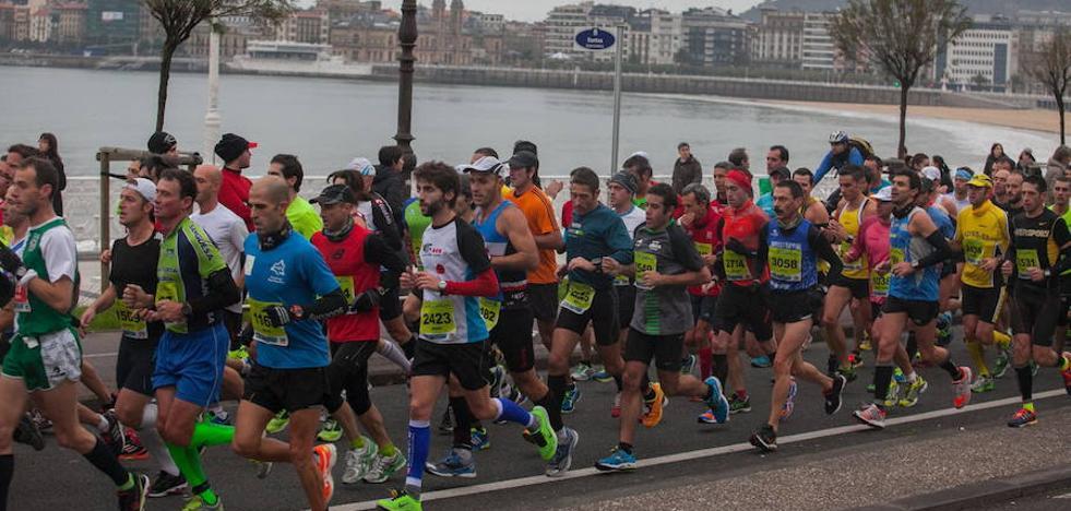 El Maratón de San Sebastián se reinventa en su 40 cumpleaños