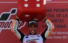 Marc Márquez: «Como decía Luis… Ganar, ganar y volver a ganar»