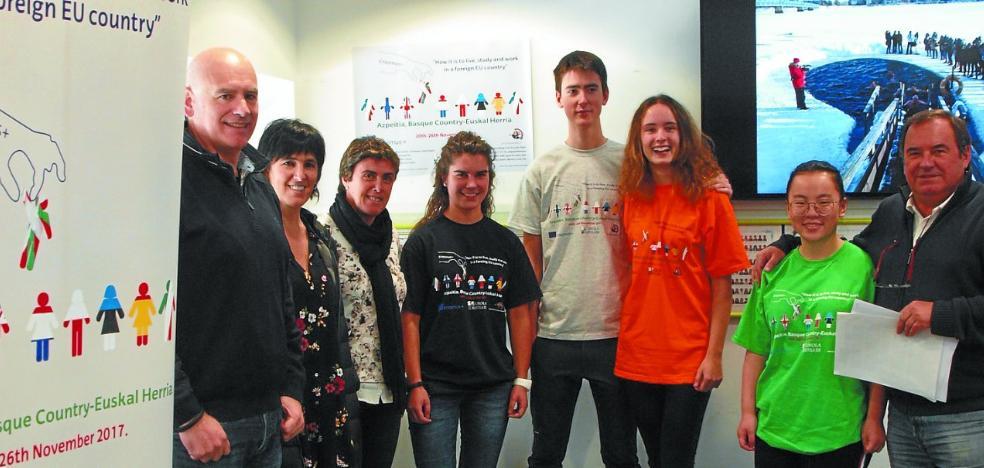Azpeitia acogerá desde el domingo a alumnos de ocho países diferentes