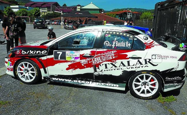 Joseba Beola y Joxelu Iratzoki (Ilargi Sport) dominan el Rallysprint Malerreka