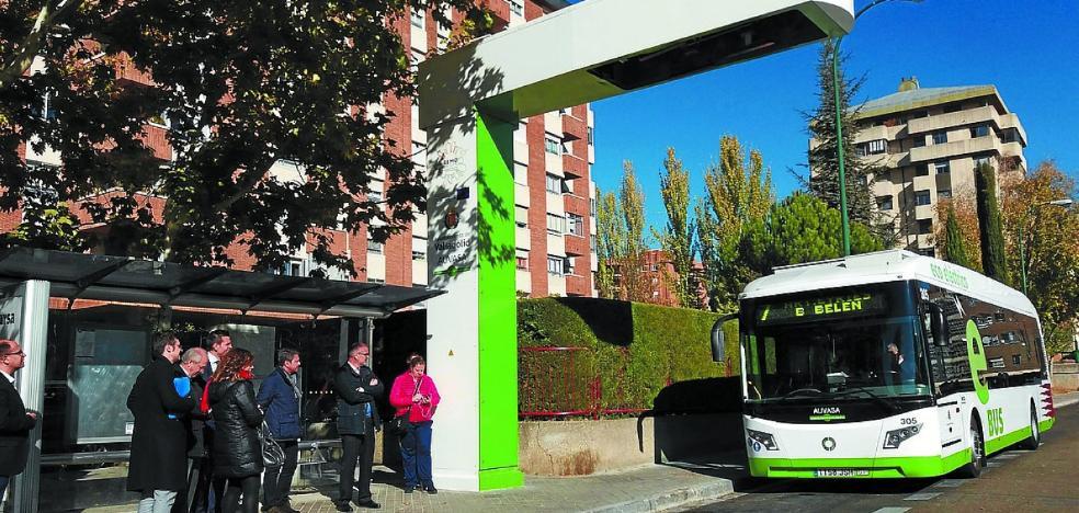 Irun observa en Valladolid el sistema de autobús eléctrico que su L-1 tendrá en 2018