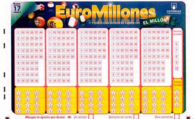Euromillones viernes: resultados del sorteo del 17 de noviembre