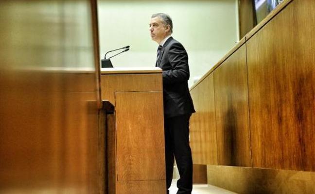 Urkullu tranquiliza al PP de cara a los Presupuestos vascos: «Estoy implicado en la reforma fiscal»