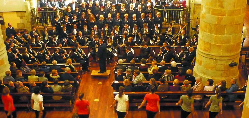 Los músicos legazpiarras ofrecerán hoy el gran concierto de Santa Cecilia