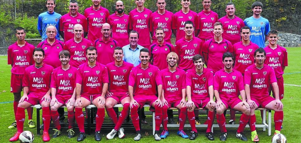 Ordizia azken sailkatua hartuko du futbol talde nagusiak gaur Eztalan