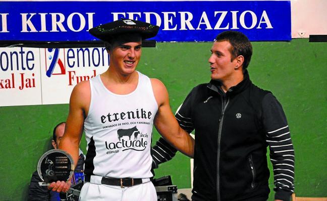 Vicente, triple campeón de Navarra
