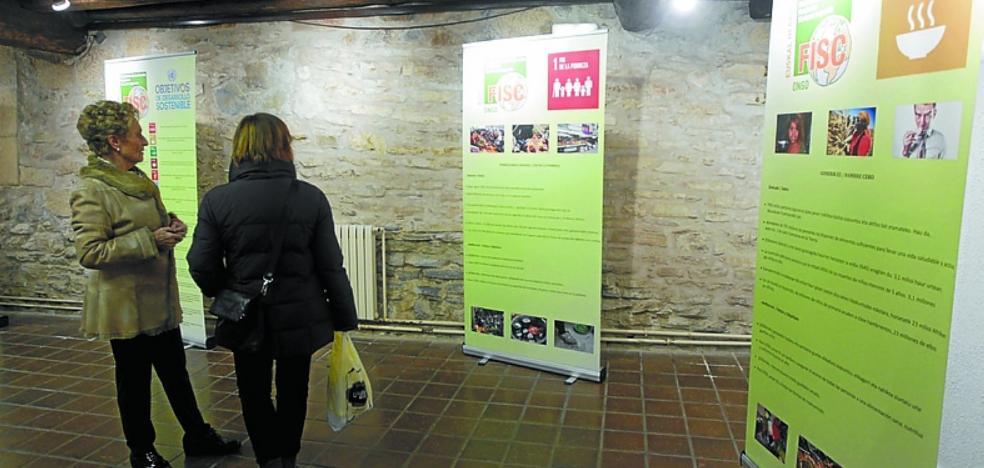 Exposición en Xenpelar Etxea sobre la pobreza