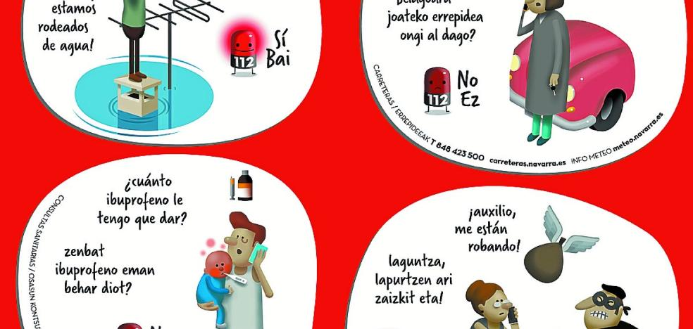 Campaña de sensibilización para el buen uso del teléfono 112