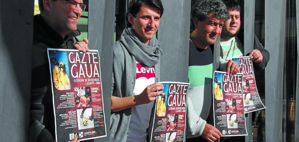 La 'I Gazte Gaua' dará relevo a una noche mágica con 'Survival Zombie'