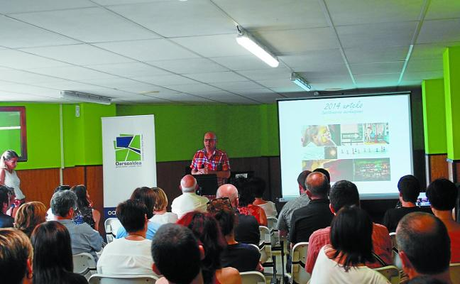 Oarsoaldea organiza talleres para reducir el consumo energético