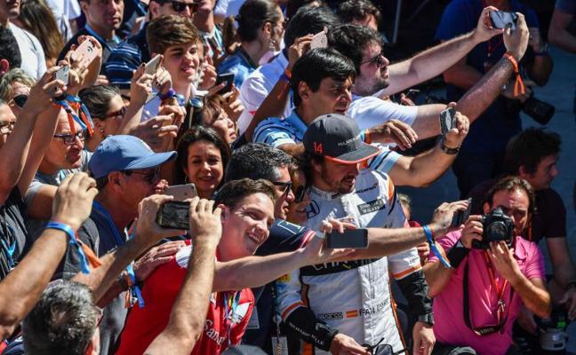 Alonso se sube al Toyota este domingo