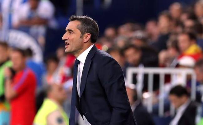 Valverde: «La tarjeta a Piqué ha sido exagerada»