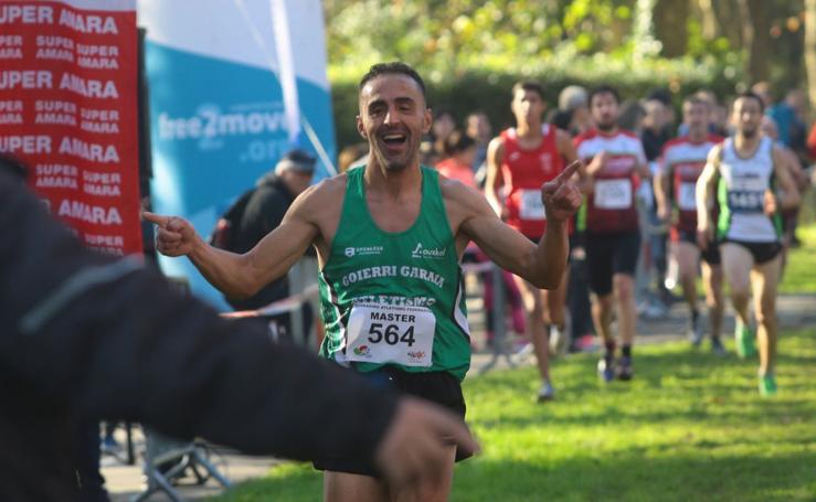 Kamel Ziani vence en el cross de Irun