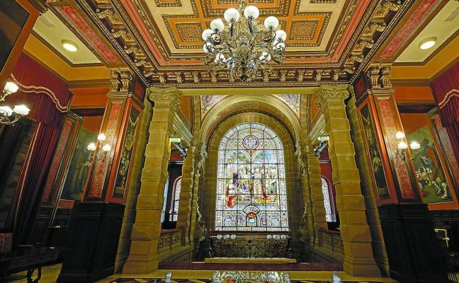 Las vidrieras de Donostia, un bien a proteger