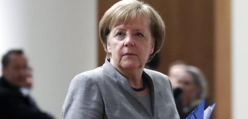 Merkel prefiere nuevas elecciones antes que un gobierno en minoría