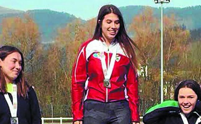 Ainhoa Toledo encabezó un estupendo fin de semana atlético de Argixao
