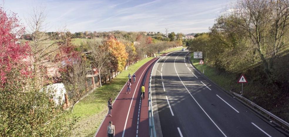La Diputación da luz verde a la construcción del bidegorri entre Hondarribia e Irun