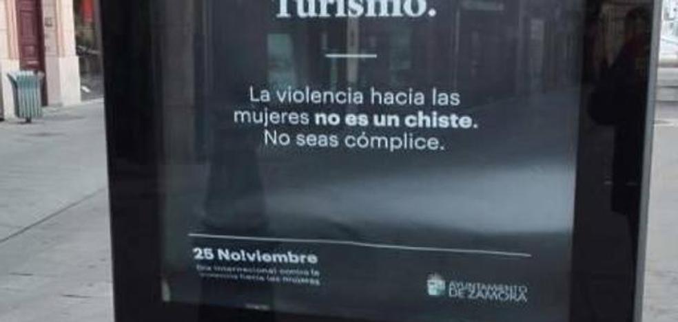 La polémica campaña del Ayuntamiento de Zamora contra la violencia machista: «Cuanto más fuerte las pegas antes vuelven»