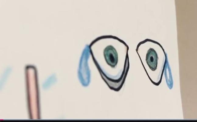 Los dibujos de niños víctimas del horror de la violencia de género