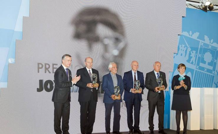El lehendakari entrega los premios Korta