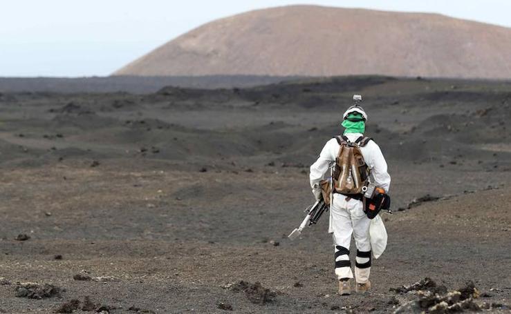 Lanzarote, eficiente campo de pruebas para misiones a otros planetas