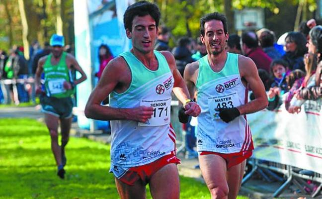 Nuevo récord de participación en el 'Cross Ciudad de Irun'
